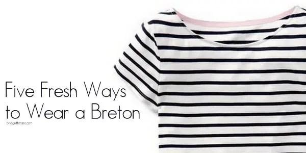 how to wear a breton
