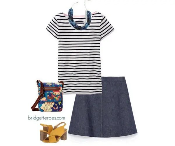 how to wear a breton shirt