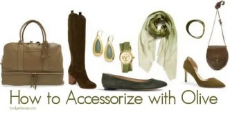 How to Accessorize with Olive