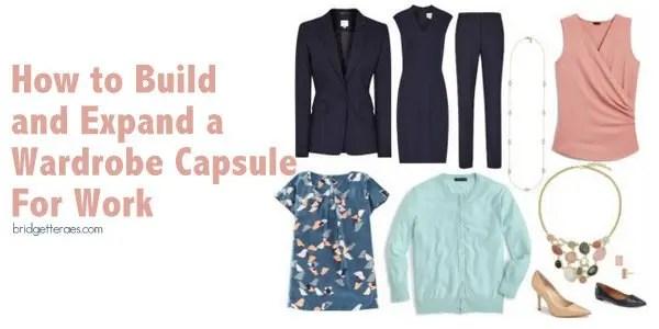 wardrobe capsule