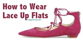 lace up flats