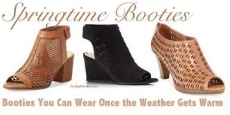 springtime booties