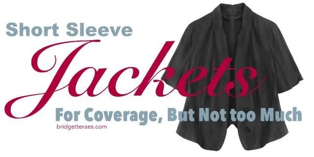 Short Sleeve Jackets