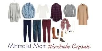 minimalist mom capsule