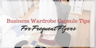 business wardrobe capsule