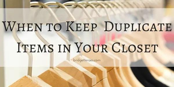 duplicate items