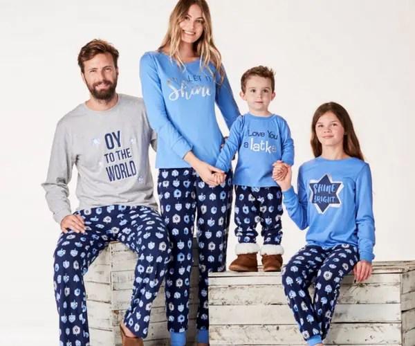 Family Christmas Pajamas Blue.Deck The Halls In Your Christmas Family Pajamas
