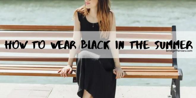 black clothes summer