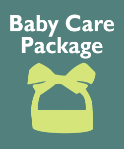 Pregnancy Helpline - Baby Care Package Icon