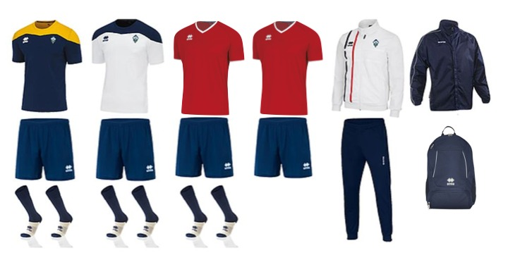 Bridgeview Soccer Academy Reveals New 2019/2020 Uniform Kits!