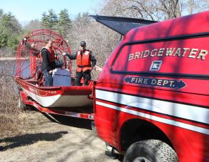 Bridgewater Fire Department Assists in Search for W. Bridgewater Man