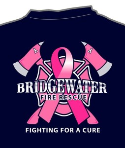Bridgewater Firefighters Announce T Shirt Fundraiser For Breast
