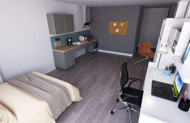 Archer House_ Studio_kitchen