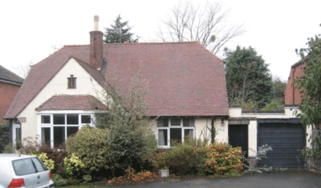 Bridging loan property
