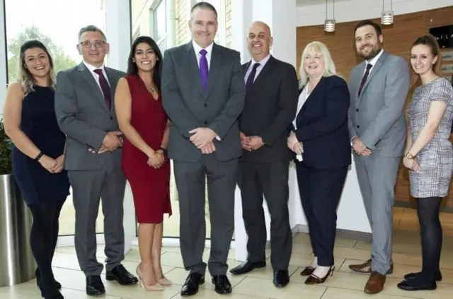 1) Together's corporate relationships team (L-R) Abigail Wiles, Andrew Fouli, Sonia Mann, Andrew Charnley, Geoff Walton, Kathy Murphy Hunter, Michael Allison, Aimee Everton.