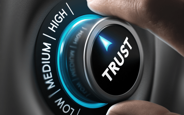 Brokers and lenders trust
