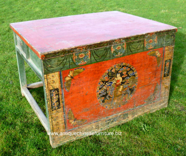 Painted Work Table