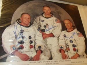 Apollo autographs
