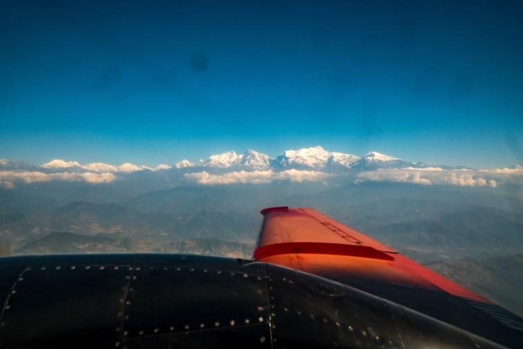 Flight to Pokhara
