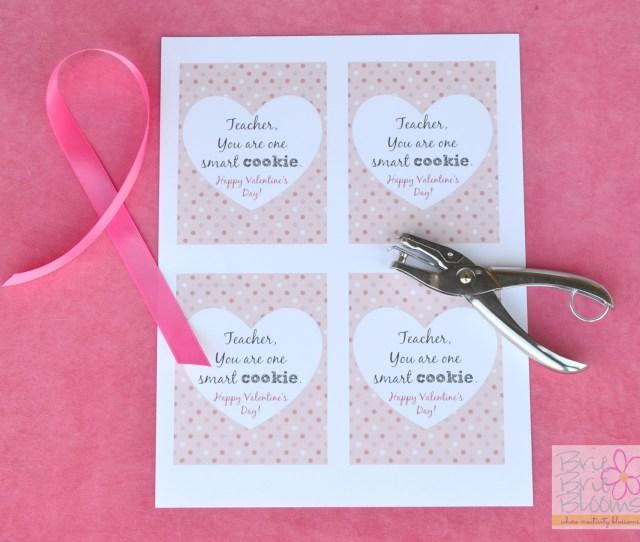 One Smart Cookie Teacher Valentine Supplies