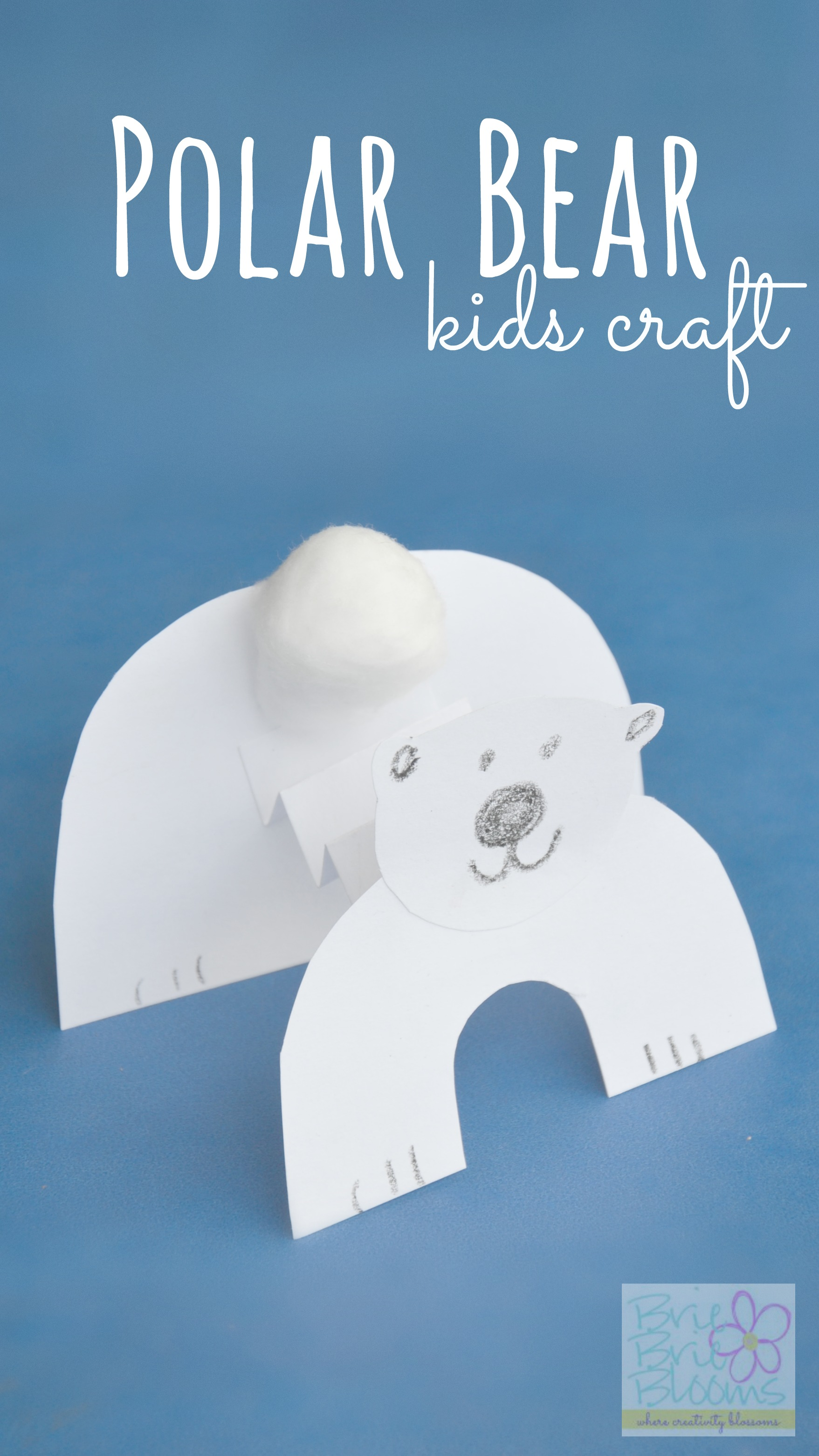 Polar Bear Kids Craft To Celebrate International Polar