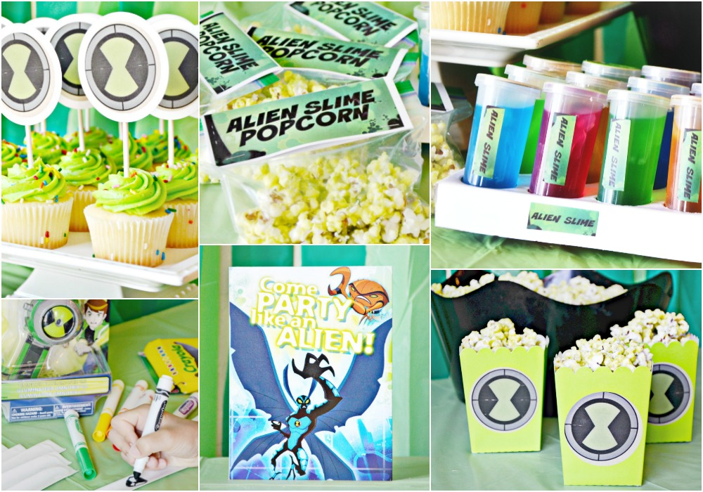 the ultimate ben 10 party inexpensive
