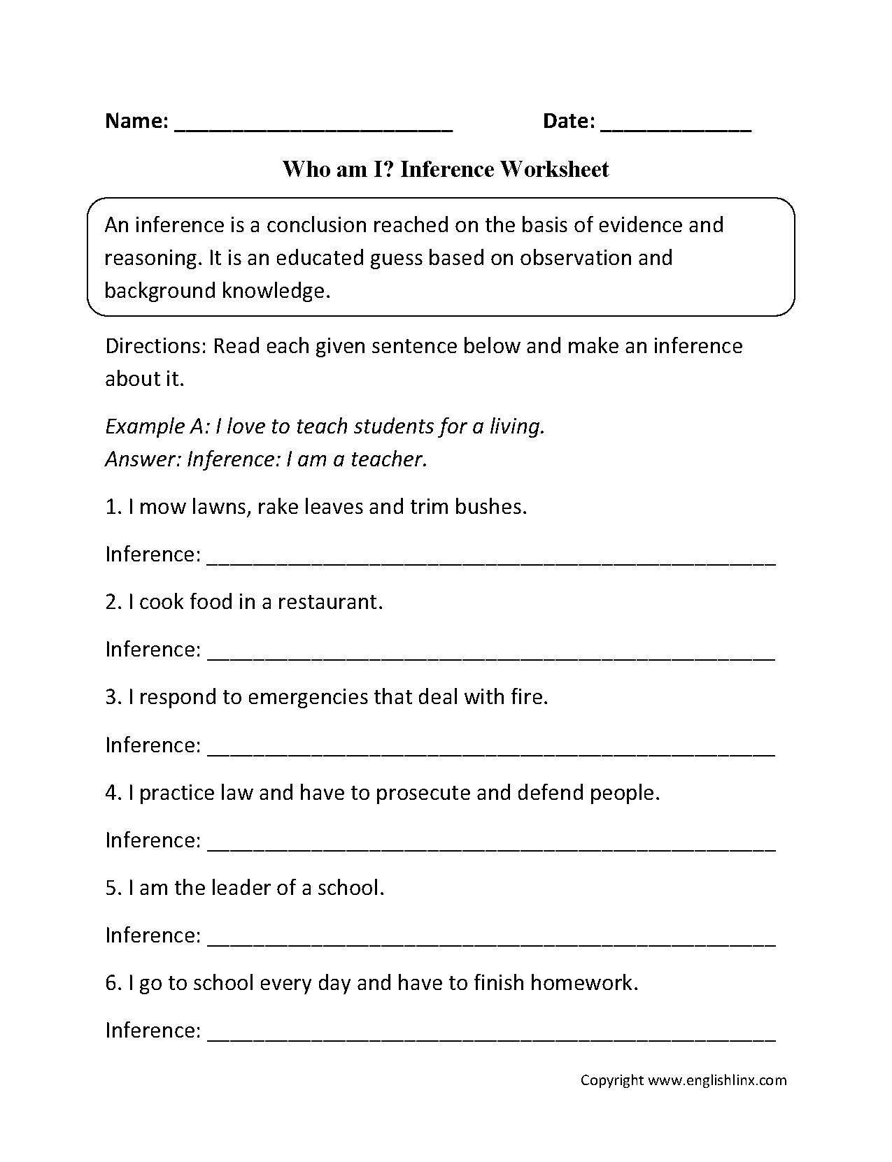 2nd Grade Comprehension Worksheets