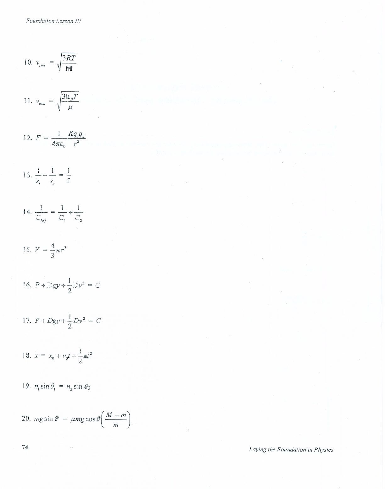 Math Answer Keys Worksheet