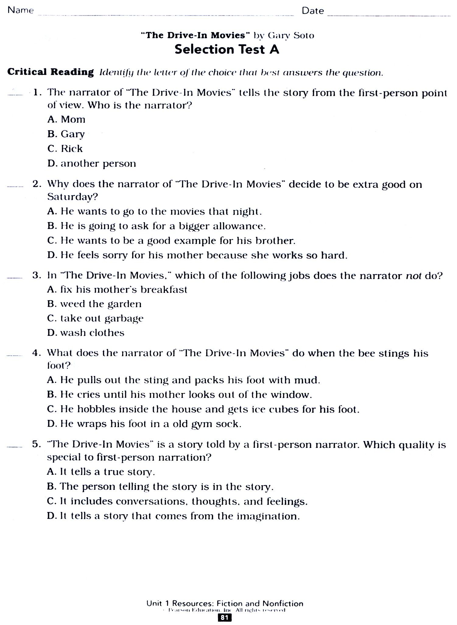 6th Grade Social Stu S Worksheets With Answer Key