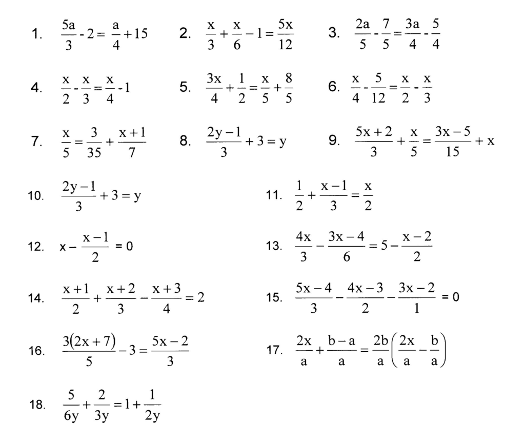 7th Grade Inequalities Worksheet