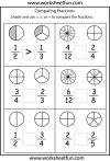 paring fractions worksheets 3rd grade math school