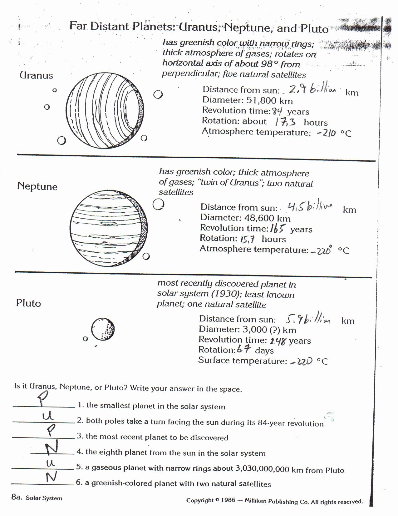 Bill Nye The Atmosphere Worksheet Answers
