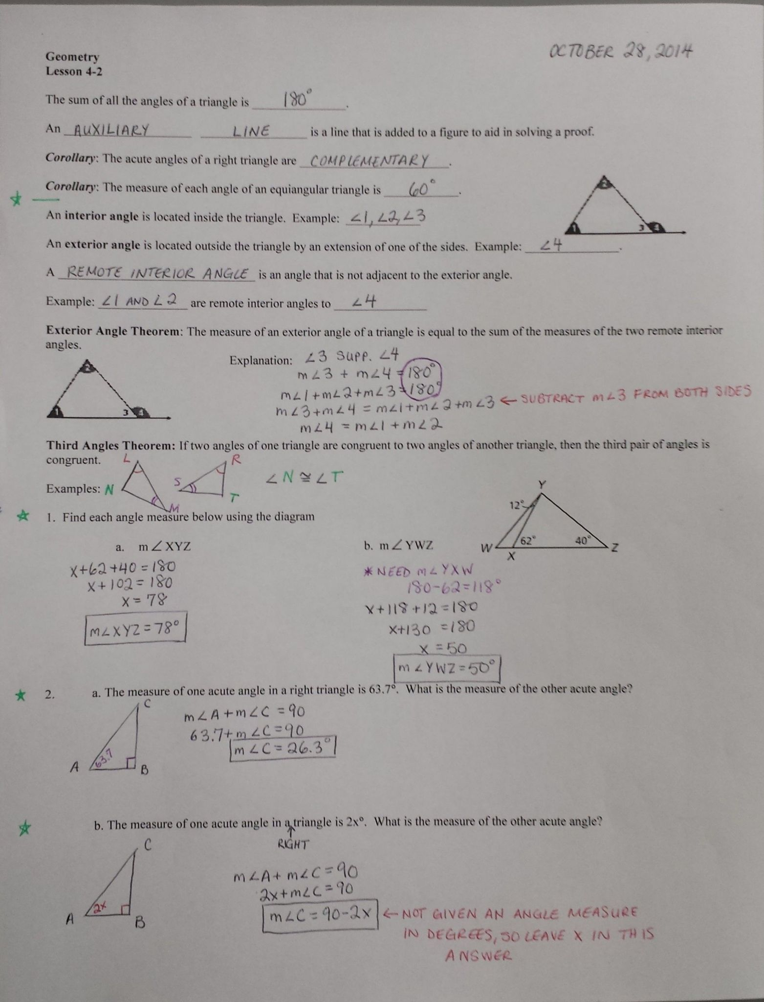 Books Never Written Geometry Worksheet Answers