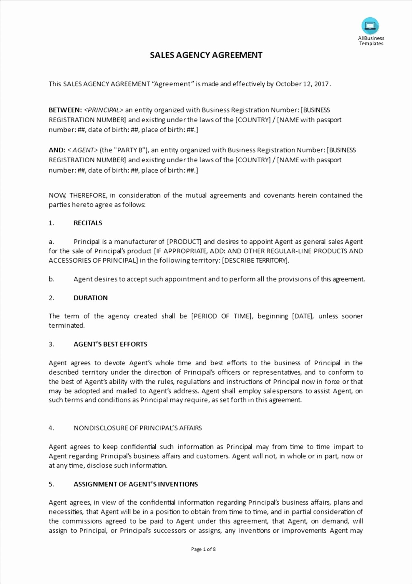 Catering Contract Worksheet