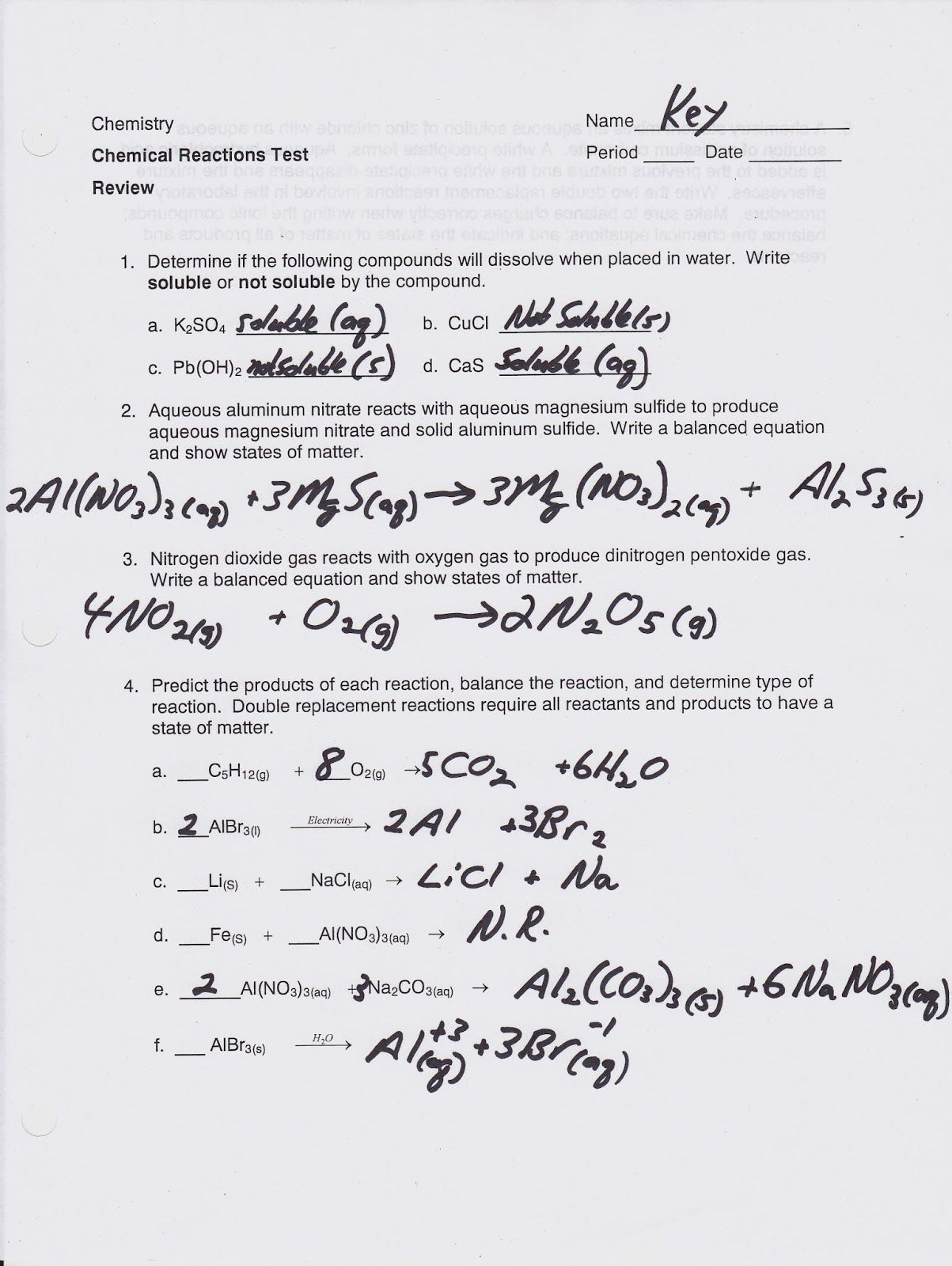 30 Classifying Matter Worksheet Physical And Chemical
