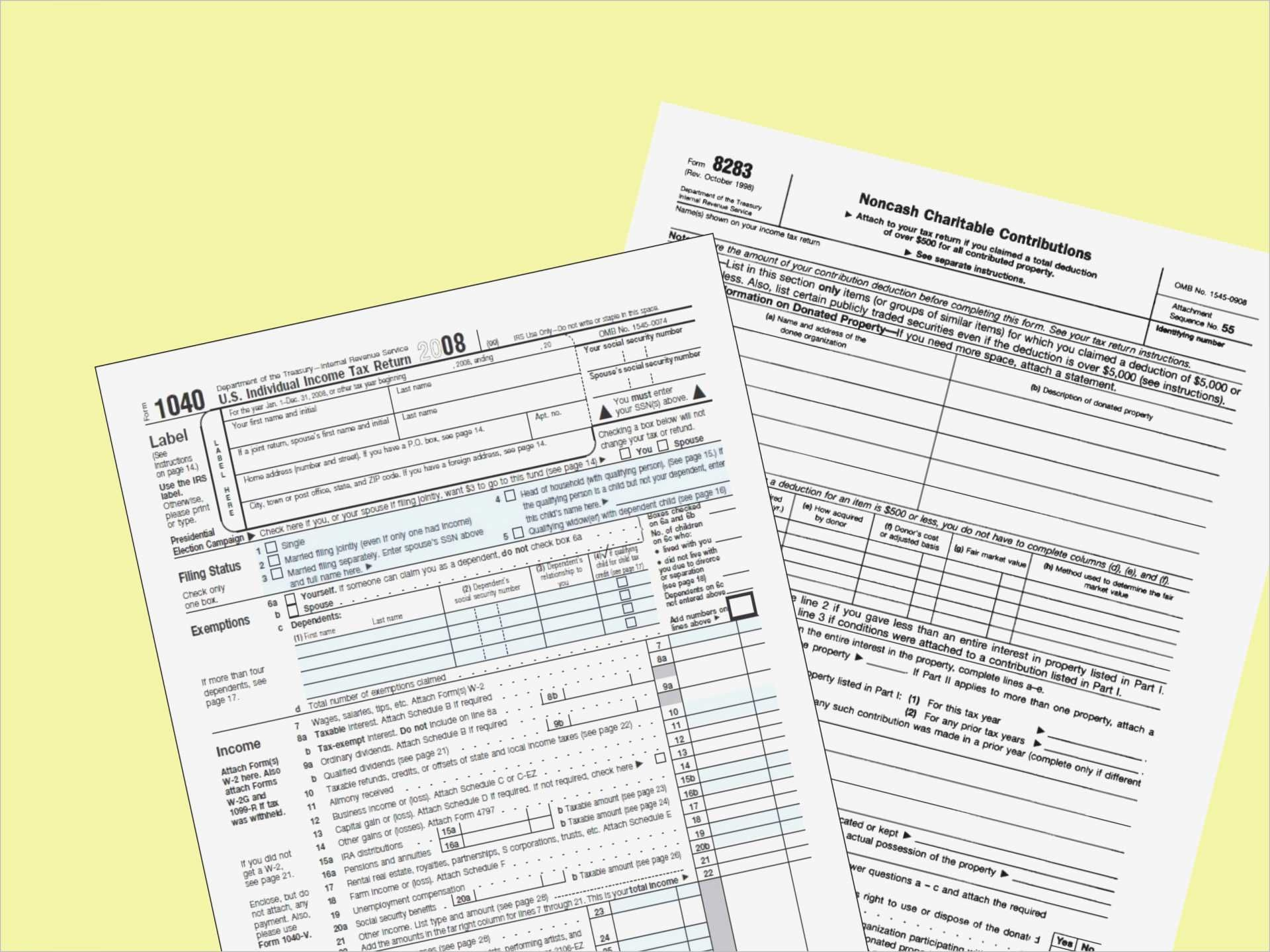 Clothing Donation Tax Deduction Worksheet