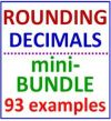 Rounding Decimals Mini Bundle 2 Items in This Set 93 examples