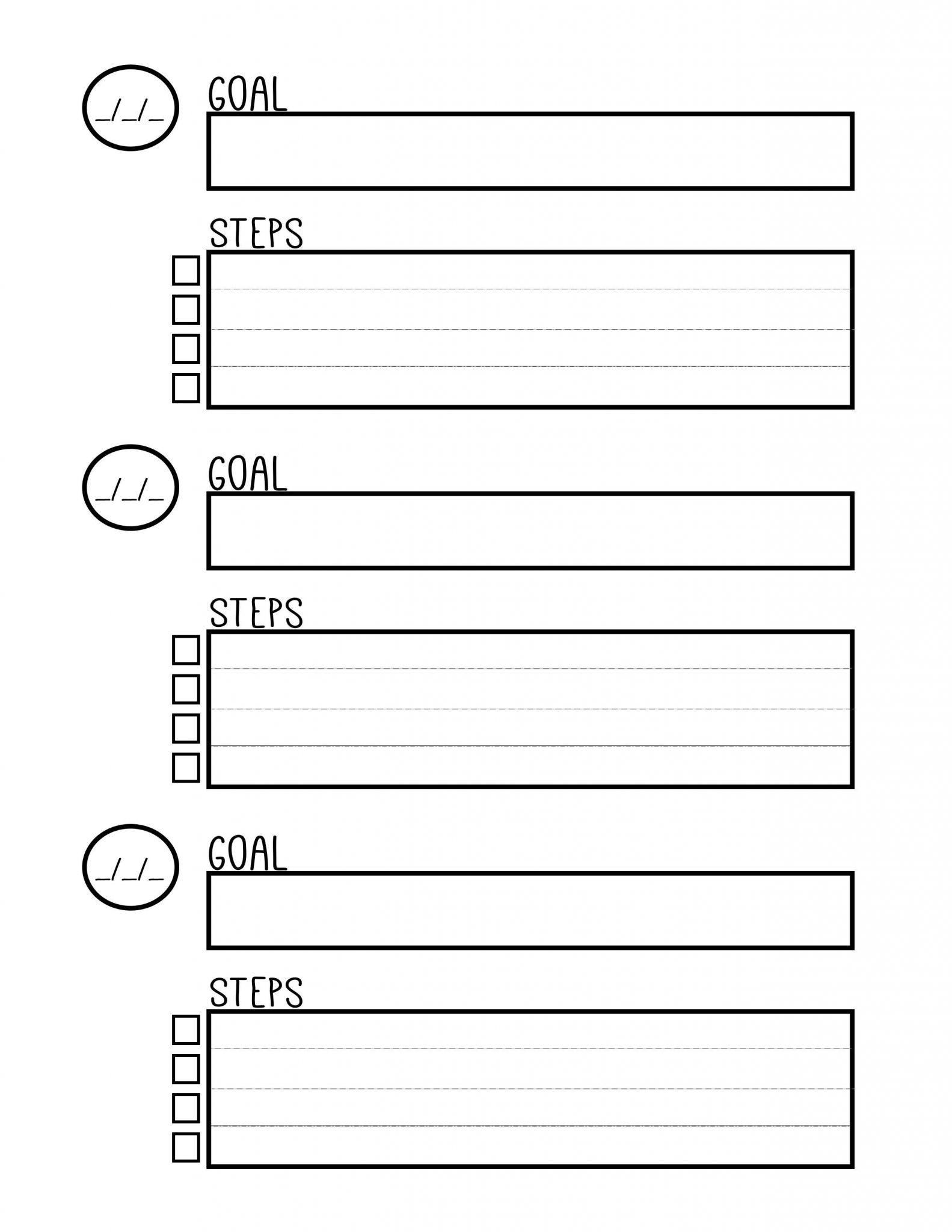 Coping Skills Printable Worksheet