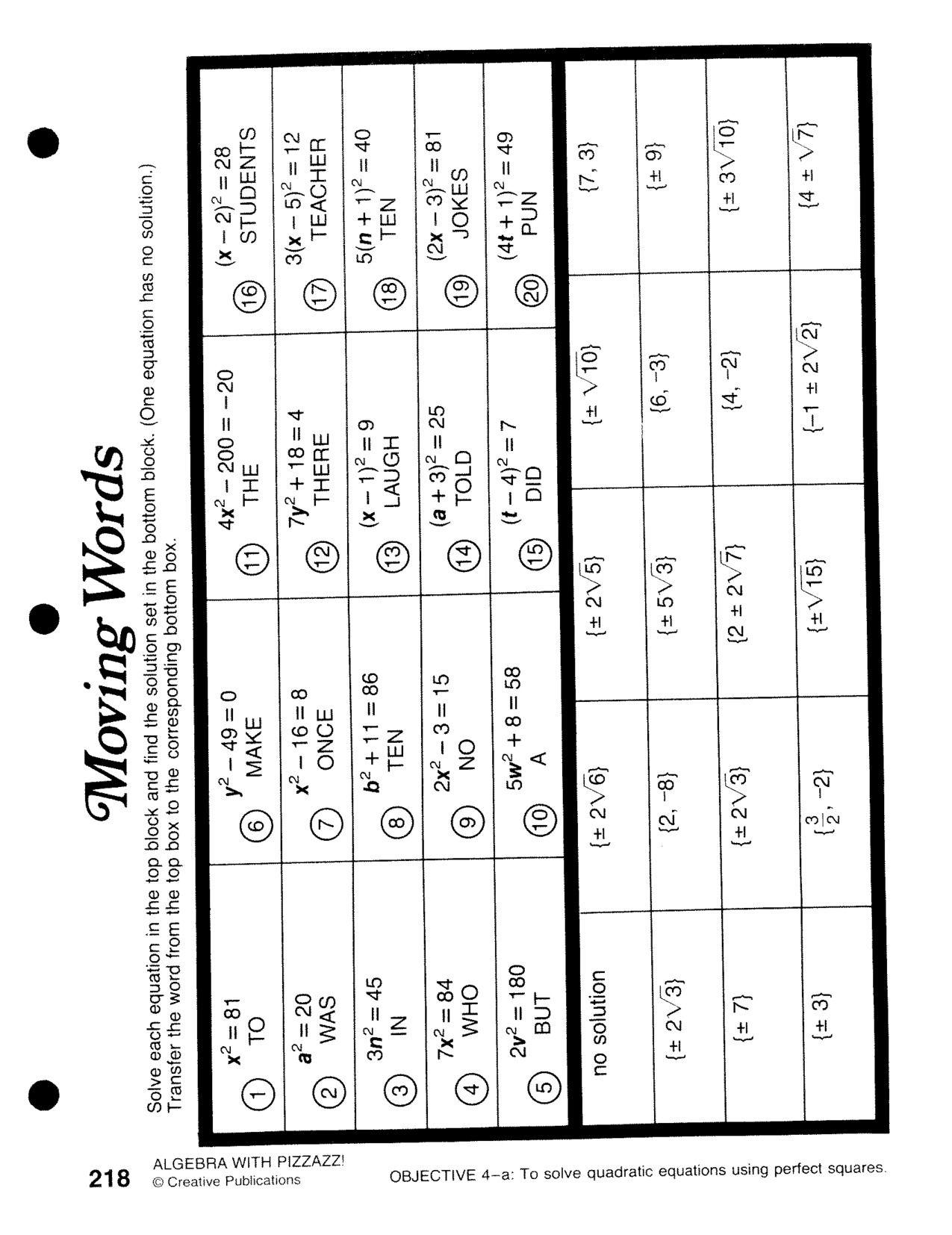 Daffynition Decoder Worksheet Answers