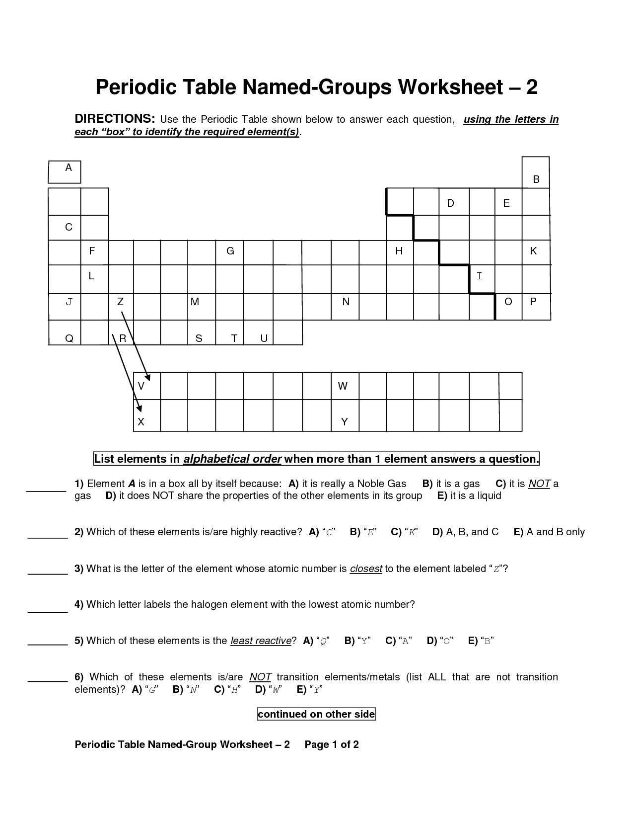 Elements Compounds Mixtures Worksheet Answers