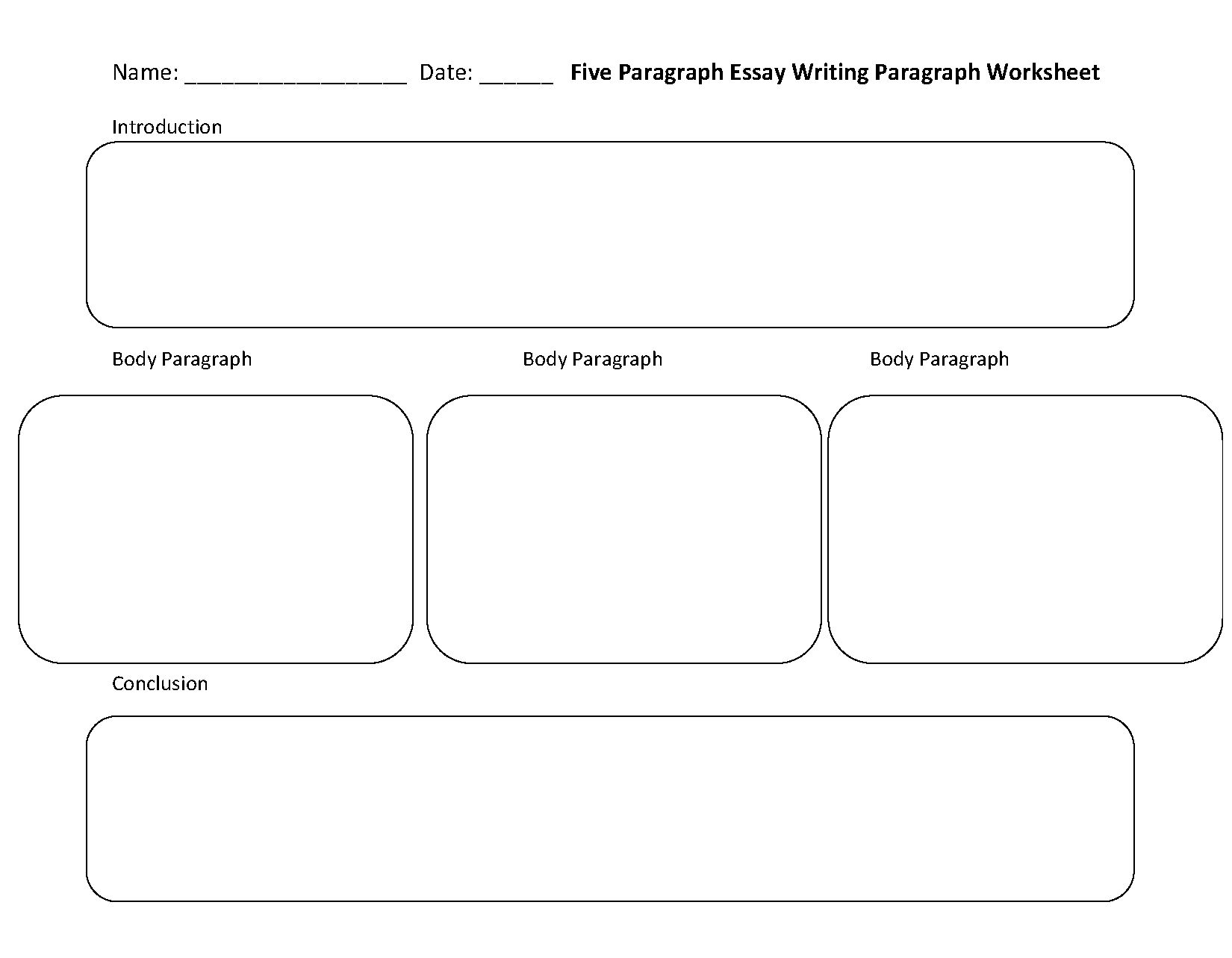Esl Essay Writing Worksheets
