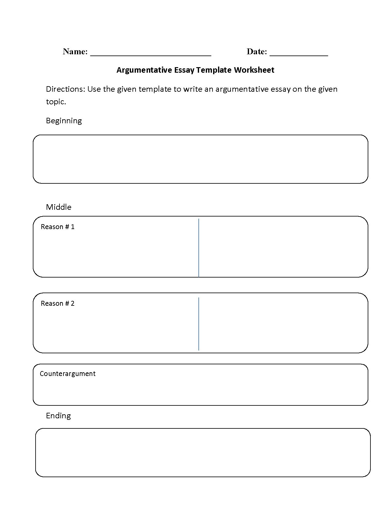 Logos Worksheet