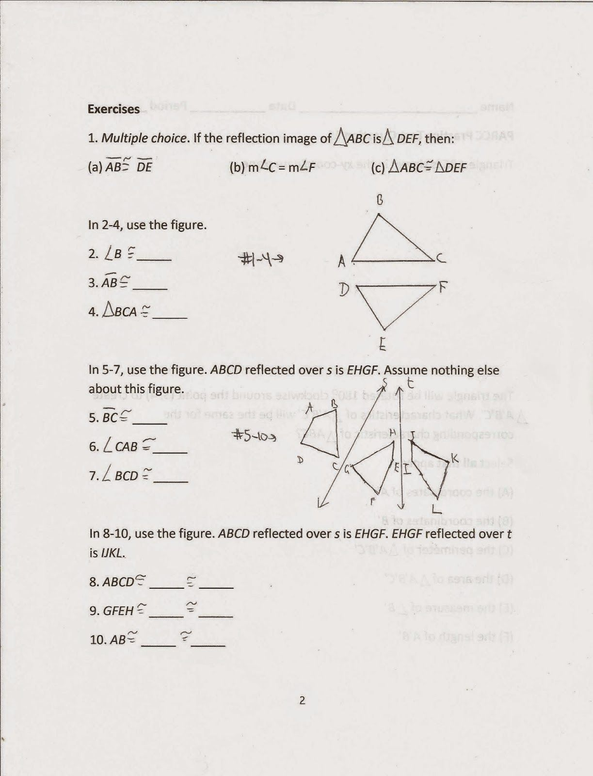 Even Odd Or Neither Worksheet Answer Key