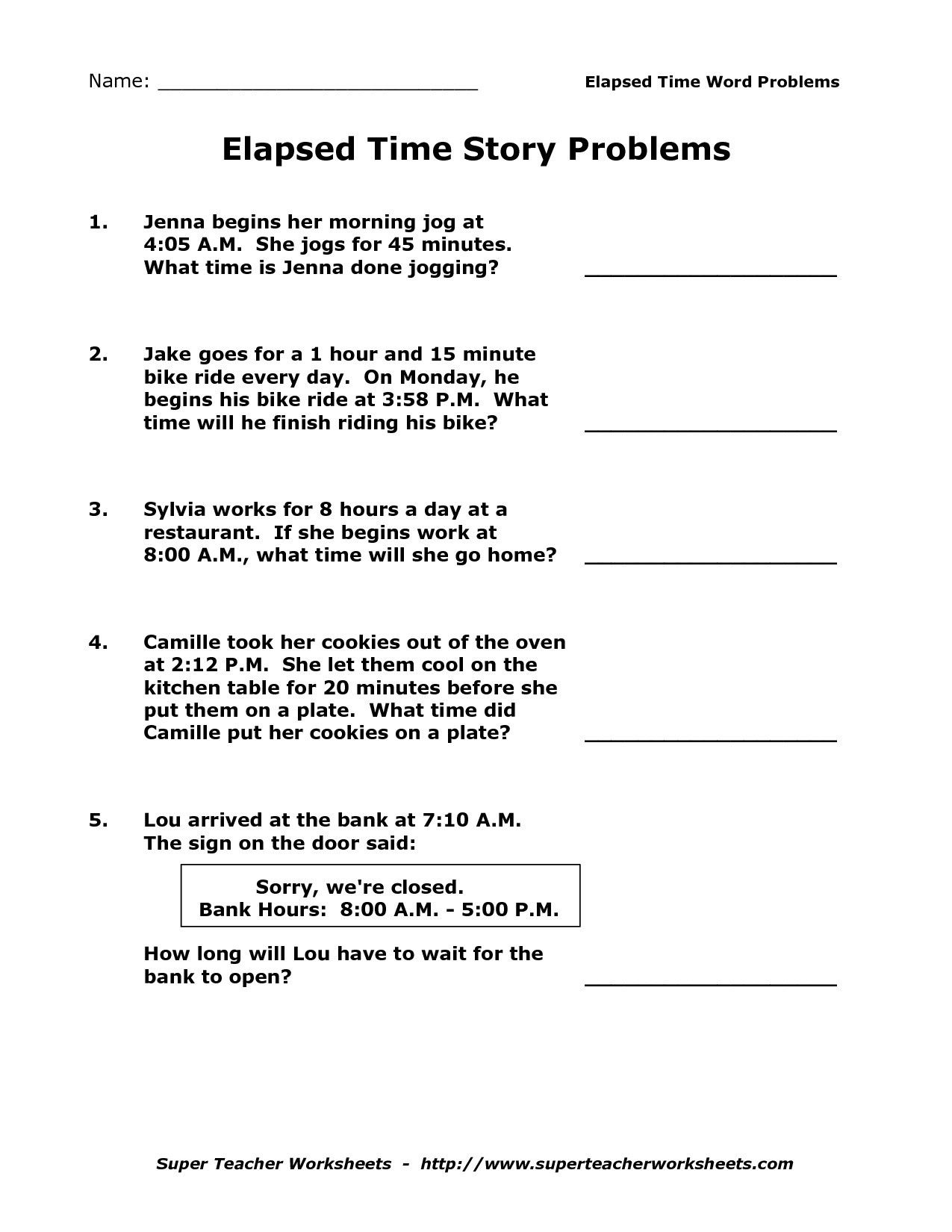 Fairy Tale Worksheets