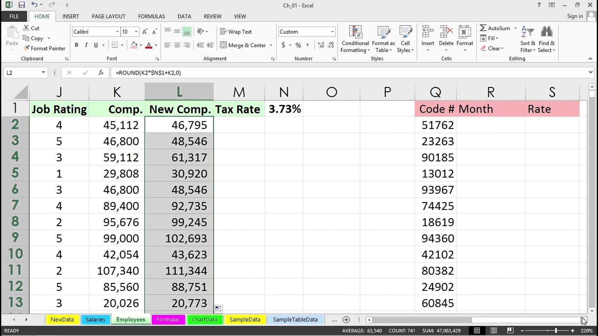 Finding Averages Worksheet