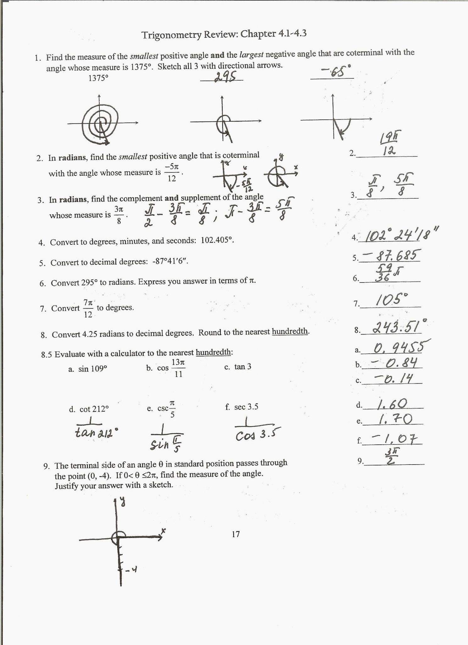 Finding The Equation Of A Line Worksheet