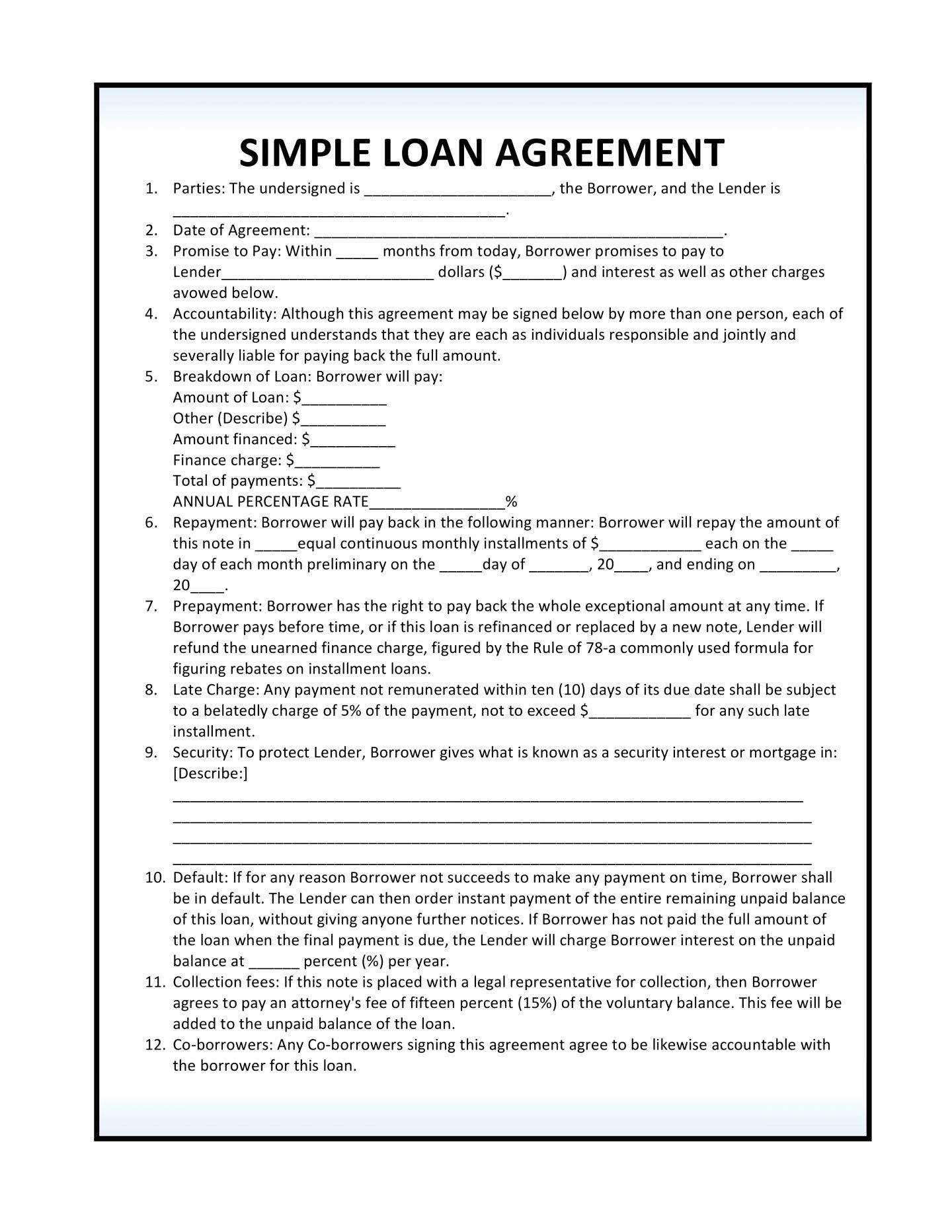 Florida Child Support Worksheet