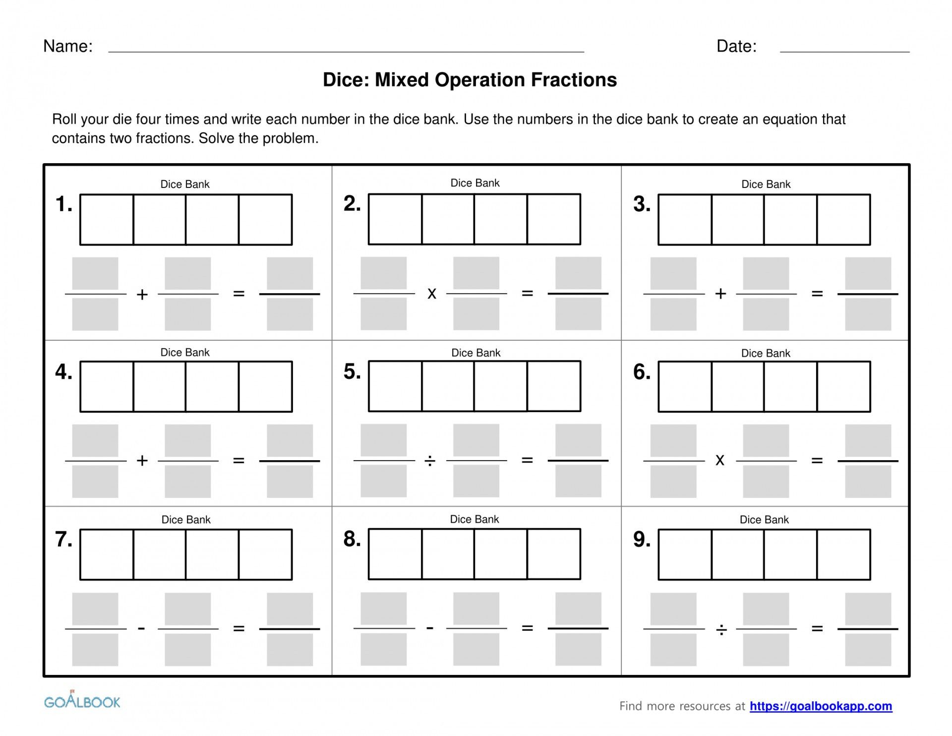 Function Operations And Composition Worksheet