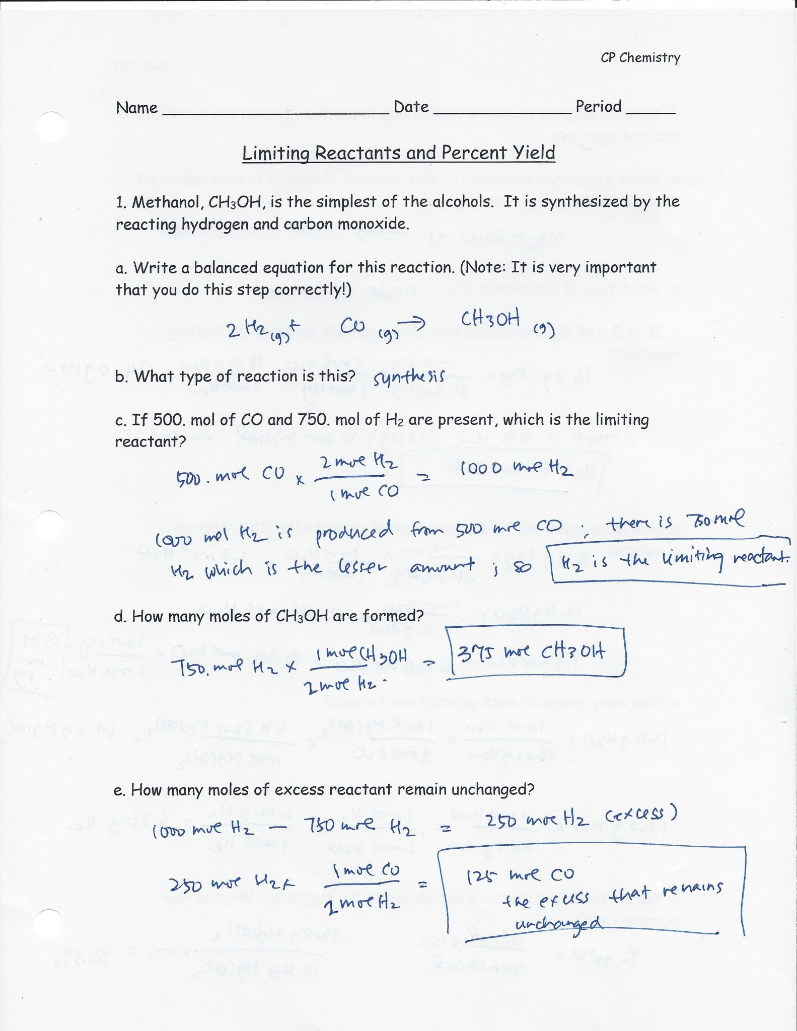 Gas Laws Practice Problems Worksheet Answers