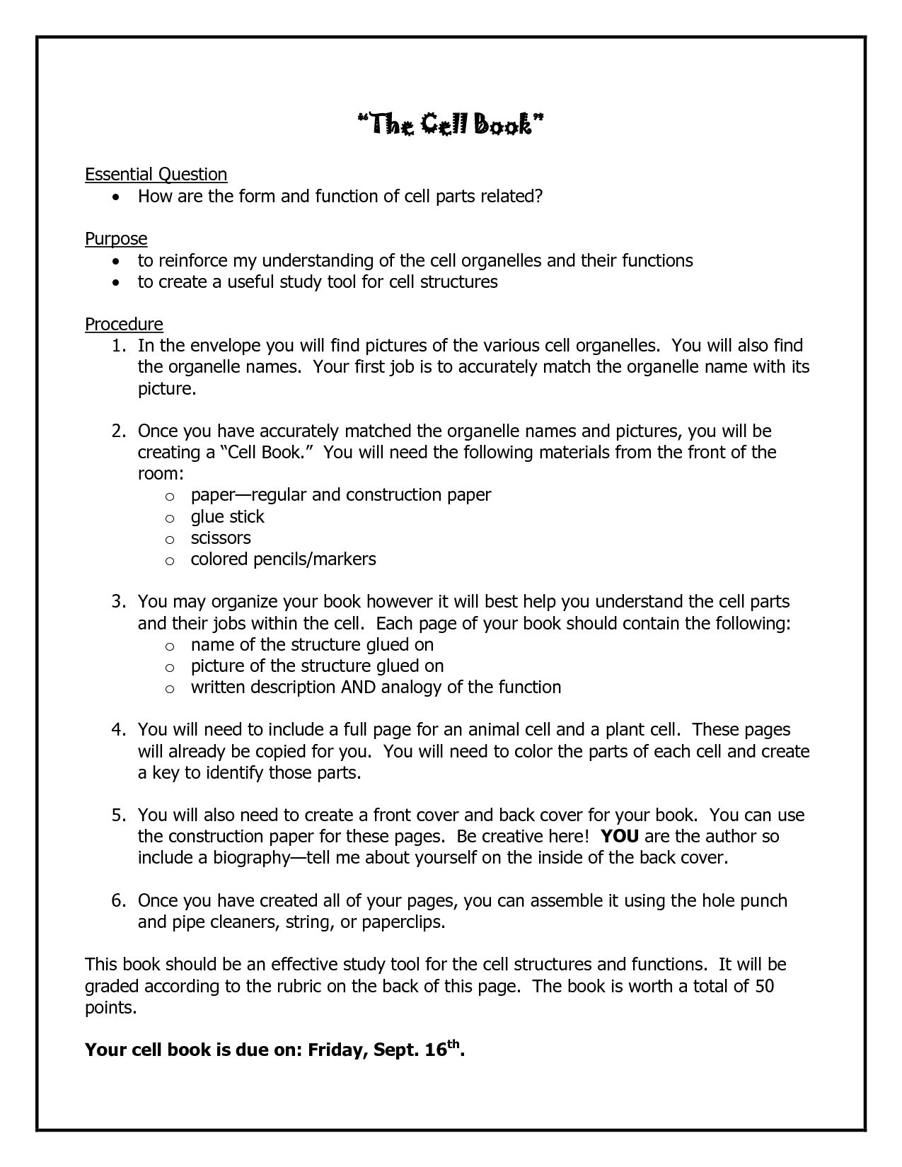 Genetics Worksheet Middle School